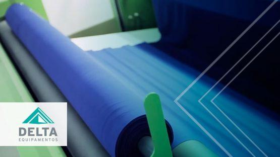 Relajadora textil, siendo utilizada en el recibimiento de materia prima.