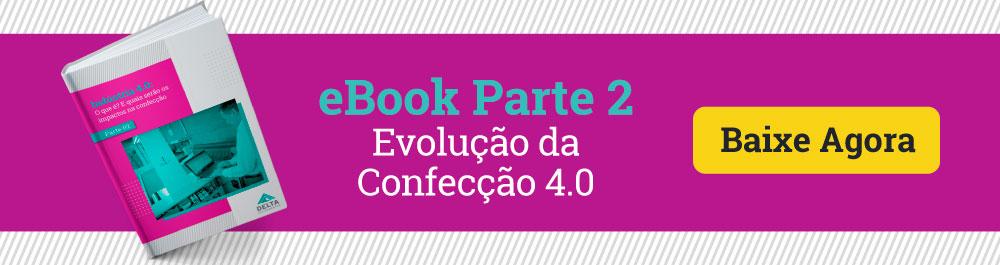 Banner: eBook evolução da confecção 4.0, como atualizar o controle de qualidade.