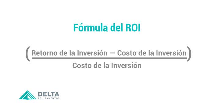 Image con la formula del ROI, que puedes ser utilizada para saber ROI de la Preparación del tejido de punto.