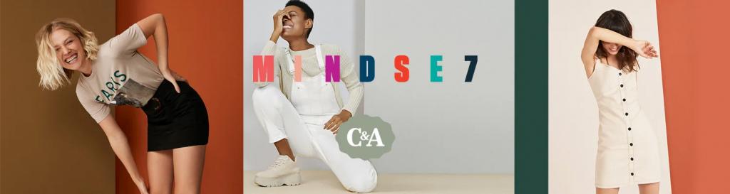 Banner da campanha de fast fashion da C&A Mindse7.